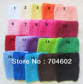 NEW Arrival 6 Inch Wide Elastic Crochet Headband for Children  DIY Hair Accessory Free shipping 185pcs/lot  H015