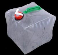Free shipping(30piece)10 L PVC Camping portable water bag folding bucket car bucket PVC