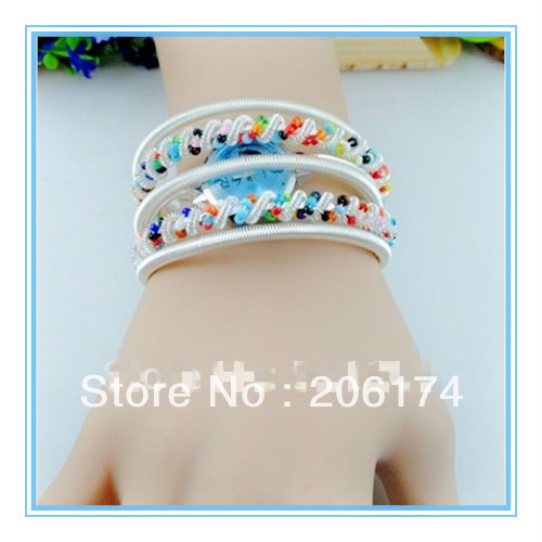 Hot sale items hot style wholesale Jewelry Bangle bracelet wrist fashion watch Women's watch Ladies(China (Mainland))