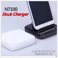 MOQ:1pcs, Mobile phone charger Deskstop Dock Charger for Samsung Galaxy Note 2 N7100 Note I9220 S3 I9300, Free shipping,D0076