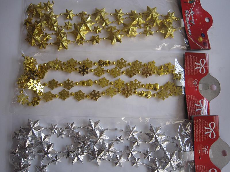 Christmas chain Christmas decoration christmas tree hangings supplies 1.5m(China (Mainland))