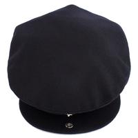 Snap button hat brim autumn and winter thermal male style woolen benn the elderly men's hat