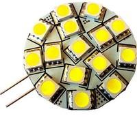 10PCS G4 LED light 240 Lumen Cool White 12V AC DC 3W Side Pin Bulb RV Boat Cabinet DIY
