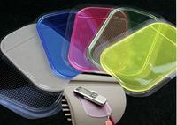 Practical paragraph polychromatic vehienlar silica gel slip-resistant pad car transparent slip-resistant pad car supplies