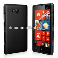 2xPlastic Hard Back Cover Case for Nokia Lumia 820+Screen film