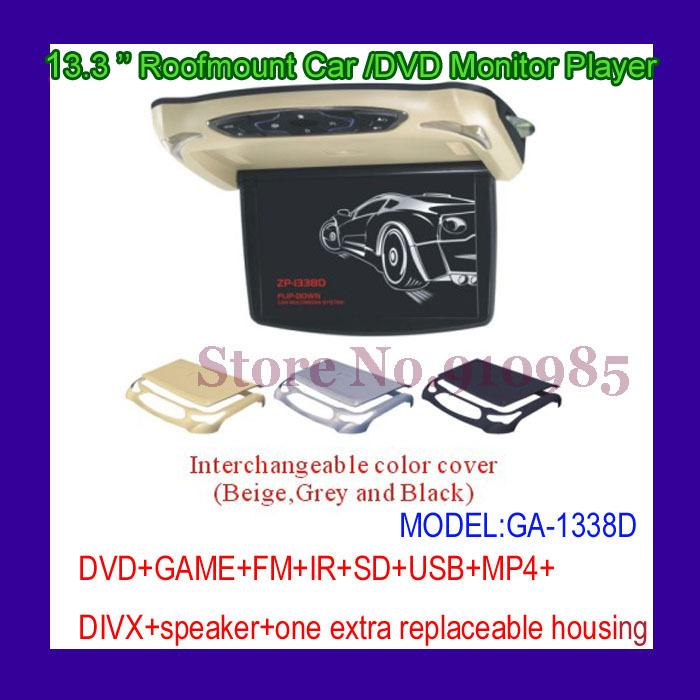 Roofmount Car/ DVD Monitor Player (GA-1338D)(China (Mainland))