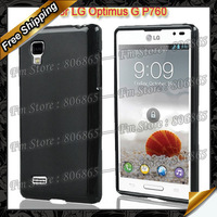 By DHL free Shipping,New Anti-skid design, soft Pudding Gel TPU Case For LG Optimus L9 P760