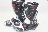 2012 New B1003 motorcycle boots Pro Biker SPEED Racing Boots,Motocross Boots,Motorbike boots we33 SIZE: 40/41/42/43/44/45