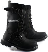 Male high-leg  martin   winter cotton   fashion trend knee-high men's boots