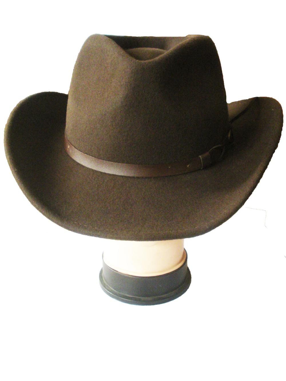 Largest Cowboy Hat Brown Felt Cowboy Hats For