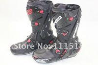 2012 New B1003 motorcycle boots Pro Biker SPEED Racing Boots,Motocross Boots,Motorbike boots we33 SIZE: 40/41/42/43/44/45 HJYP