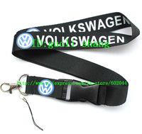 Hot 10pcs VOLKSWAGEN CAR Logo Lanyard/ MP3/4 cell phone/ keychains  /Neck Strap Lanyard WHOLESALE Free shipping