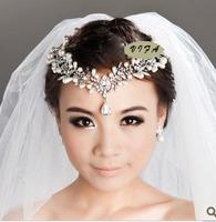 Free shipping!Handmade Rhinestone   bride hair accessory +earrings wedding hairpin accessory headornametn headwear,SW028