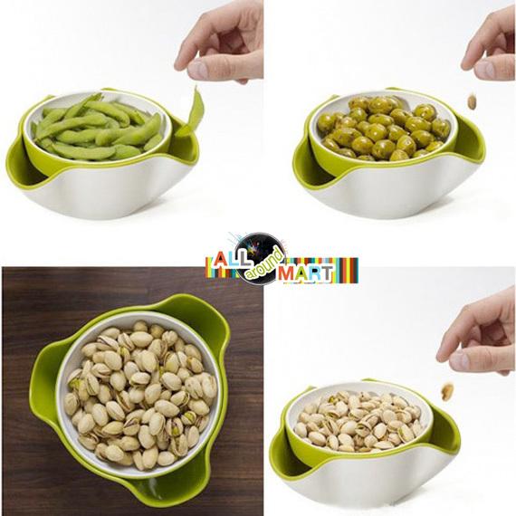 Aliexpress.com : Buy Creative Modern Stylish Double Dish Snack ...