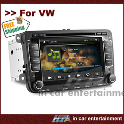 HEPA: 2 Din TV for VW Volkswagen Golf 2 with GPS iPod Radio(China (Mainland))
