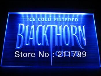 HW6101 Ice Cold Filtered Blackthorn Cider Logo Beer Bar Pub led  Hairline Light Sign Neon