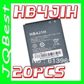 20pcs HB4J1H Battery For Huawei Mobile Phone T8100 M835 Tokidoki Edition Blaze IDEOS X3 C8500S GAGA