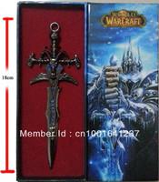 "Frostmourne World Of Warcraft Alloy Sword Mini sword Letter opener  7"""