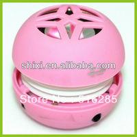 Radio And Mp3 Hamburger Shape Mini Speaker