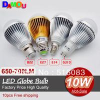 Светодиодная лампа CREE 12W GU10 4 * 3W 85v/265v Dwonlight 5 epacket