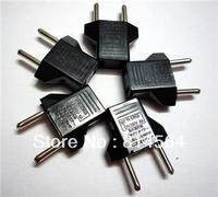 5Pcs US to EU AC Power Plug Travel Converter Adapte