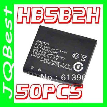 50pcs High quality HB5B2H Battery For Huawei cell Phone C5990 U550 U5509 V860 Vodafone V830