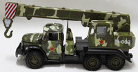 Alloy car models military crane alloy crane model acoustooptical WARRIOR
