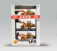 Cars alloy engineering car models set bulldozer road roller engineering car toy