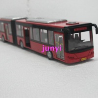 Free Shipping Bus model - 1 double the publicvehicle acoustooptical