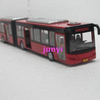 Free Shipping Bus model - 1 double the publicvehicle acoustooptical