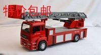 Alloy car models large ladder truck model fire truck toy alloy fire car