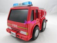 Cars fire truck fire truck alloy fire car model cartoon car toy acoustooptical