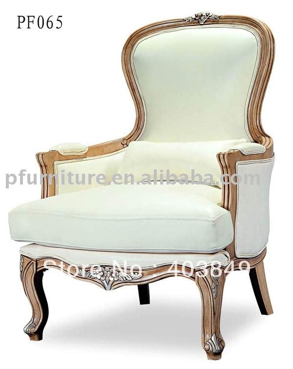 Antieke houten chaise lounge stoel pfc065 - Deco loungeeetkamer ...