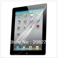 Wholesale Free Shipping For ipad 2 ipad 3 screen protector guard LCD protective film 20pcs/lot