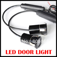 Wholesale Special Offer Real 2014 Newest 7w Led Welcome Lights The Fifth-generation Car Door Decorative Aluminum Housing