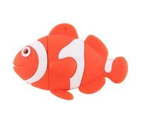 Free Shipping By China Post 50pcs/lot Wholesale1GB 2GB 4GB 8GB Cartoon Lovely PVC Nemo USB Flash Drive