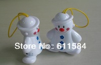 20PCS/LOT Freeshipping NEW Snowman Wholesale Lovely Wireless Baby Cry Detector Baby Alarm Watcher Alarm Free Shpping