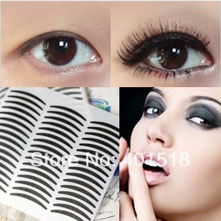Black Cat-eye E yeliner Stripe Make Up Eye Sticker Double Eyelid Transfer Tape Eye Shadow Smoky Tattoo Free Shipping 720pair/lot