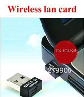 Mini 150Mbps USB WiFi Wireless Adapter 150M Network LAN Card , Free Drop shipping