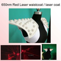 Free Shipping 650nm Red Laser waistcoat / laser coat