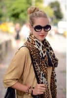 Christmas Gift Winter Scarf Long Leopard Pashmina Shawl And Wraps Fashion Women Scarves 5pcs/lot 170*115cm Free Shipping ! !