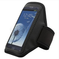 Black Running Sports Gym Armband Case Cover for Samsung Galaxy S 3 S III i9300 100pcs/lot