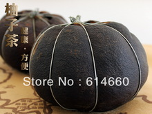 35OG,1pcs Dried Grapefruit Puer Tea,Harmonizing intestine-stomach,Free Shipping