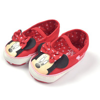 Baby MINNIE princess  children infant shoes 6paris/lot free shipping