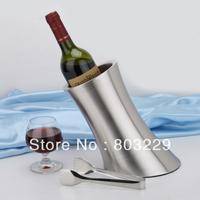 free shipping cost! Double layer stainless steel ice bucket,zongya li