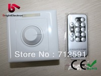Free shipping 13-key Infrared Dimmer 12V - 24V DC output constant voltage LED remote dimmer PWM output