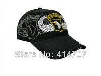 Free Shipping Retail U.S. Military the 101st Airborne Division Tactical Baseball Hat Cap Commemorative Headwear Adult Cotton Cap