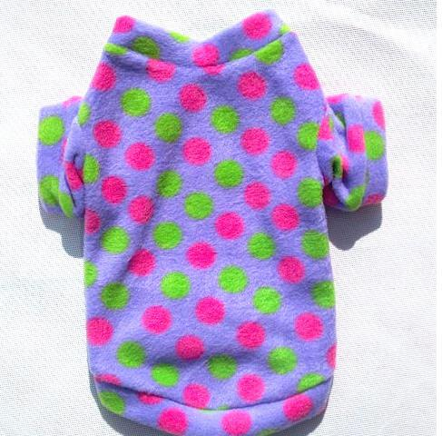 2012 New Arrival Lovely Pet Cloth Dog Coat Clothes Wearing Apparel Autumn Winter Free Shipping(China (Mainland))