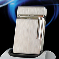 New S.T. Dupont Ligne Lighter & Silv er Laquer & in box