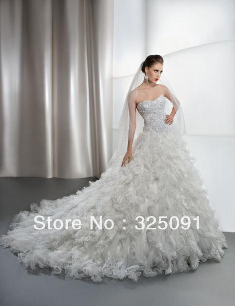 Wedding Dresses Ruffle